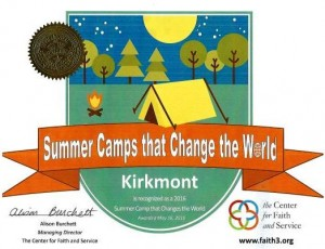 camps that change the world announcement